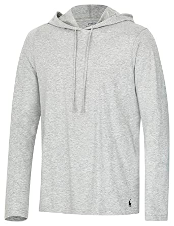 Polo Ralph Lauren Longsleeve Hoodie Shirt Langarm Sleep Top  Amazon.de   Bekleidung 4c0d1f7653