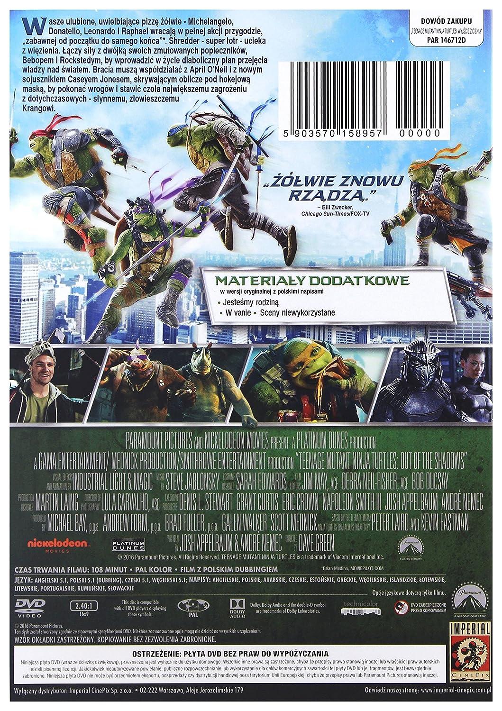 Teenage Mutant Ninja Turtles: Out of the Shadows DVD IMPORT ...