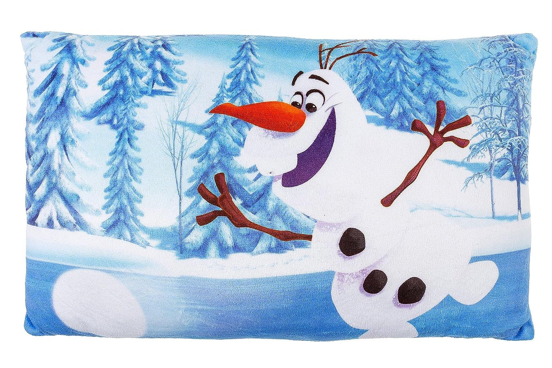 'Disney Frozen Coussin Olaf Bleu, 37x 23cm, original sous licence 444168KSFRBL
