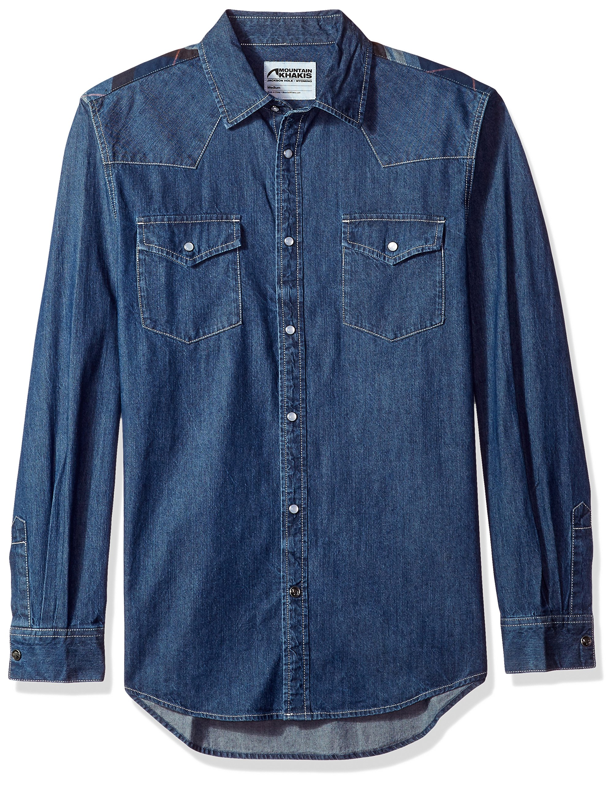 b9503a7cd60 Mountain Khakis Men s Original Mountain Denim Shirt - Denim.Fit