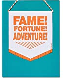 American Greetings Fame Fortune Adventure Congratulations Card with Foil