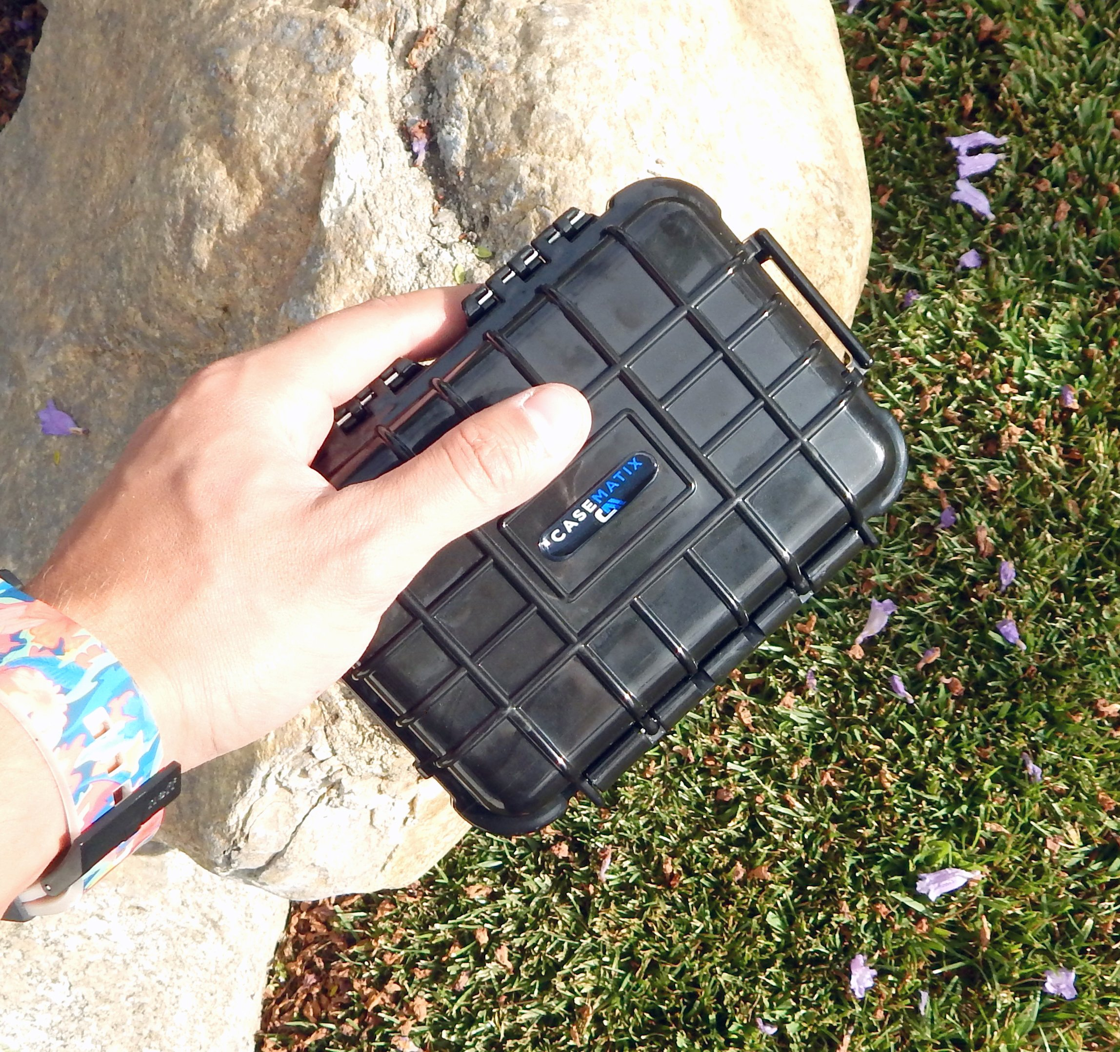 CASEMATIX Rugged Portable Printer Case Compatible with Polaroid Mint Printer and Polaroid Mint Pocket Printer Paper - Includes Waterproof CASE ONLY by CASEMATIX (Image #3)
