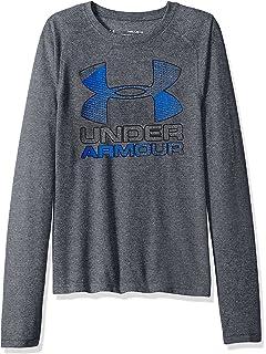 499a56fc98ba Amazon.com  Under Armour Boys  Crossfade Long Sleeve Shirt  Sports ...