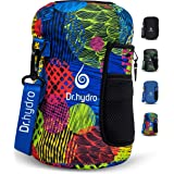DR.HYDRO 3.2L Water Bottle One Gallon Sleeve Jug Insulated Neoprene Cover Large 108oz Holder with Shoulder Strap for Gym and