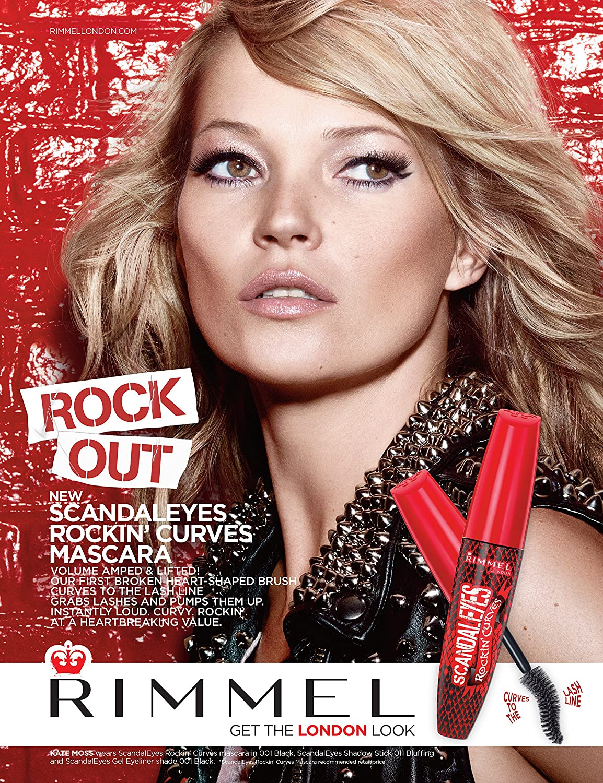 ab3da125bca Rimmel Scandaleyes Rockin' Curves Mascara, Black - 12 ml: Amazon.co.uk:  Beauty