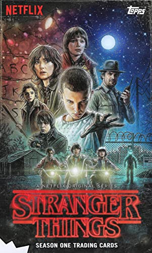 2018 Topps Netflix Stranger Things Season One Trading Cards Complete Base  Set 1-100 With 20 Character Card Sticker Set