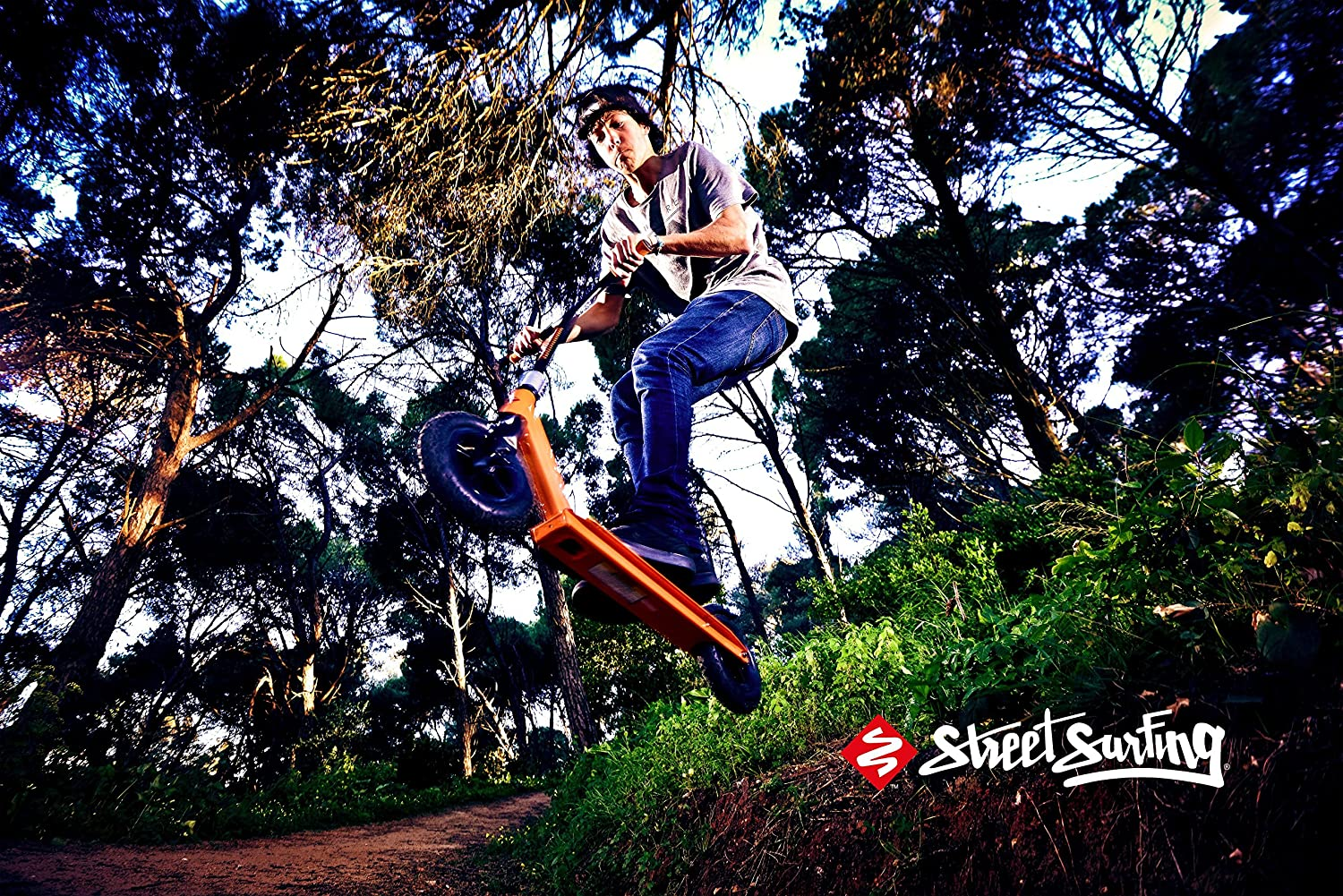 Streetsurfing Scooter Street Surfing STREET Rush Dirt ...