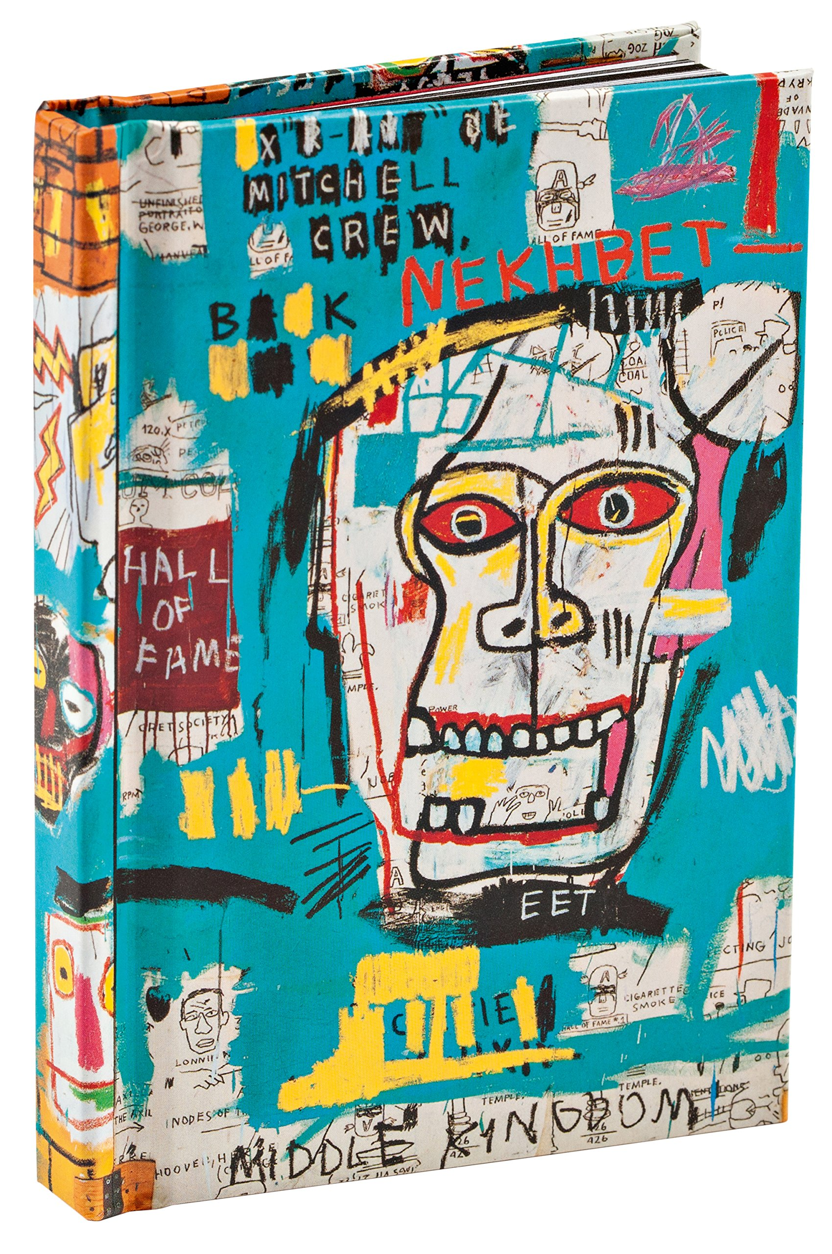 Skulls by Jean-Michel Basquiat Mini Notebook pdf epub