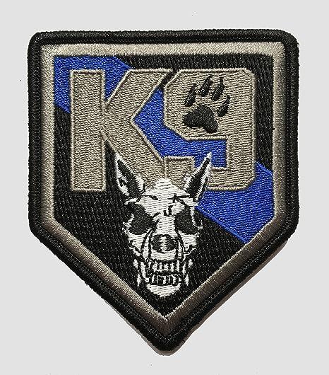 Stevens Tactical Shop Parche delgado azul línea K9 Shield: Amazon.es: Deportes y aire libre