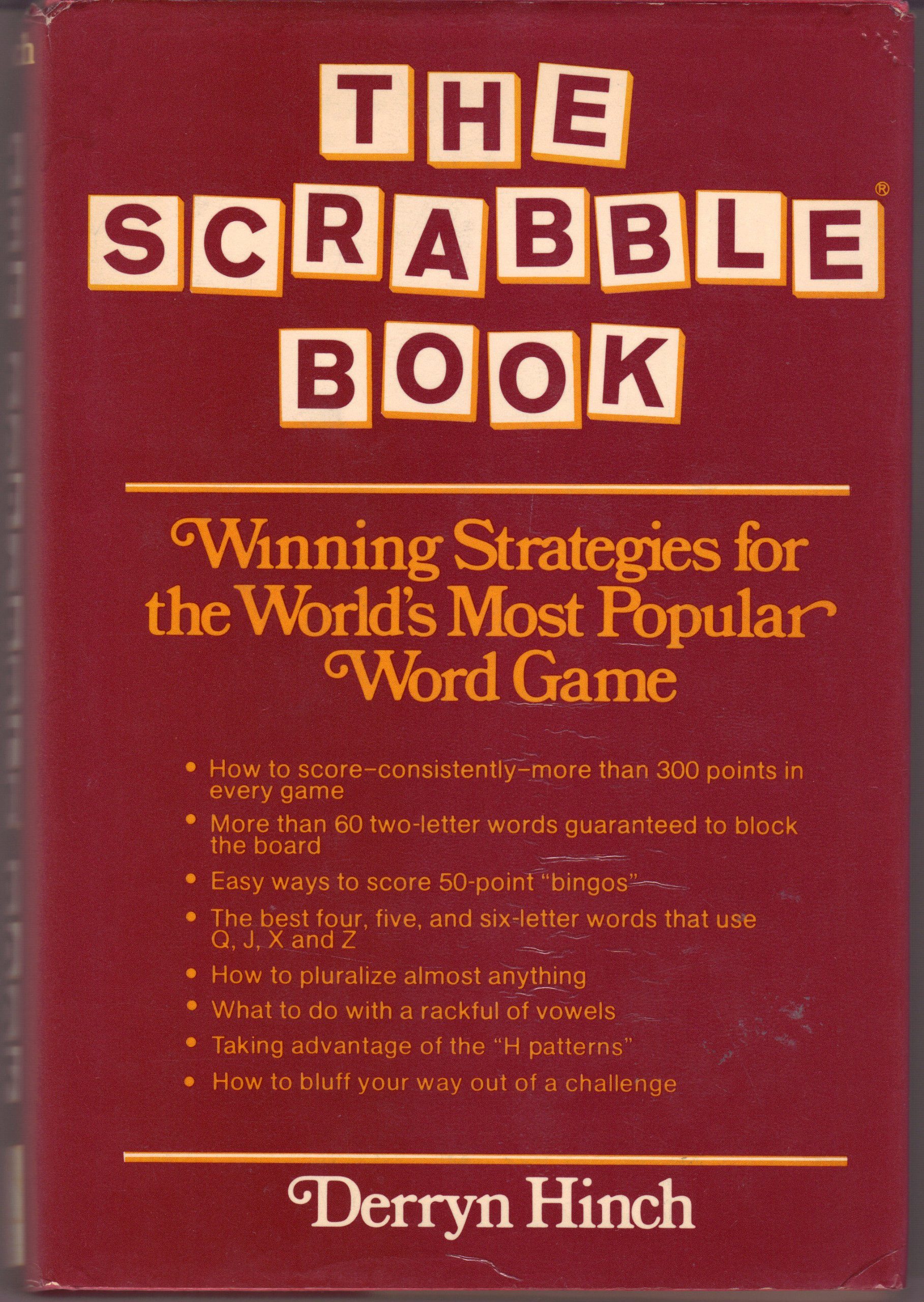 The Scrabble Book Derryn Hinch 9780884051367 Amazon Books