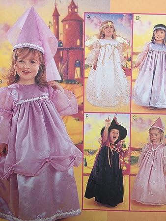 Unbekannt Mccall S Schnittmuster 2434 Mädchen Kinder Pretty Kostüm