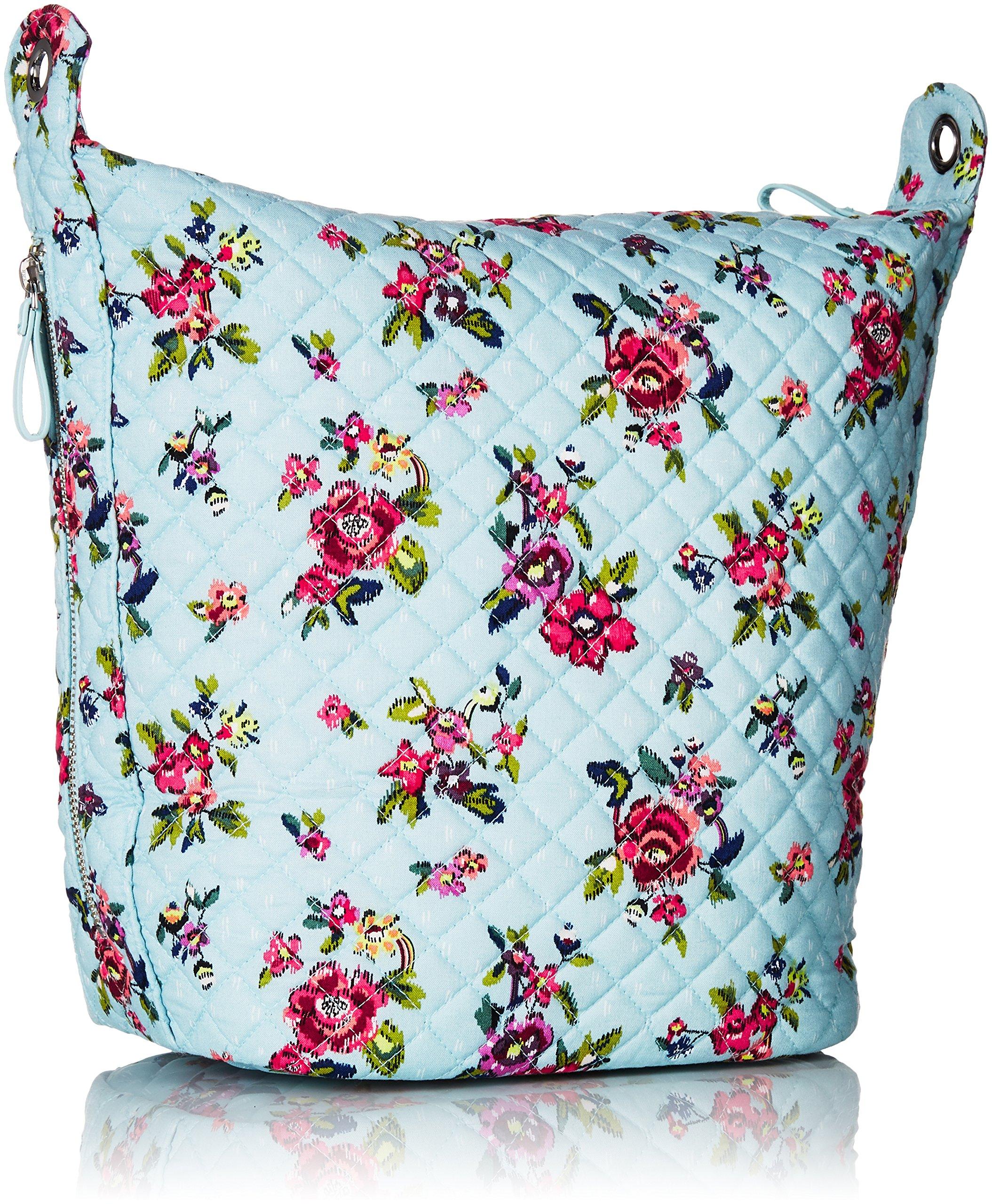 Vera Bradley Carson Hobo Bag, Signature Cotton, Water Bouquet by Vera Bradley (Image #2)