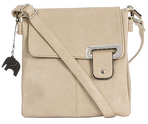 Big Handbag Shop BHSL Womens Medium Trendy Messenger Cross Body Shoulder Bag   Amazon.ca  Jewelry e92ec02b5f974