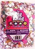 Darice Big Bling Flowers and Round Gem Value Pack Rhinestones, Multicolor