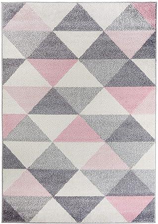 Amazon De Carpetforyou Designer Moderner Teppich Smoothie Pink