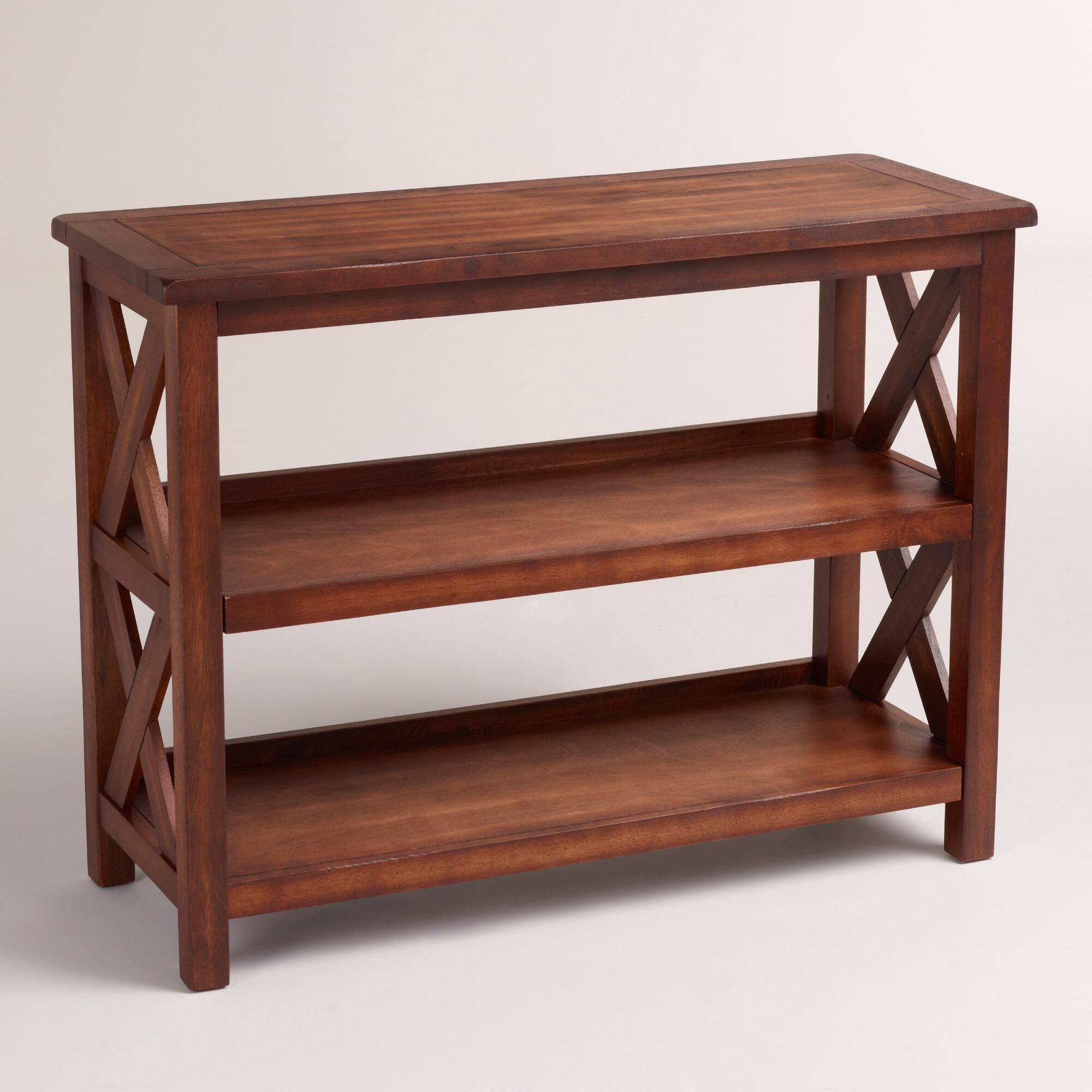 Verona Two-Shelf Bookshelf | World Market