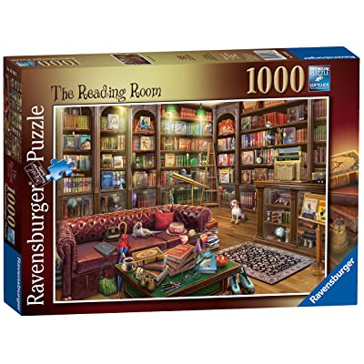 Ravensburger The Reading Room, 1000pc Jigsaw Puzzle: Toys & Games