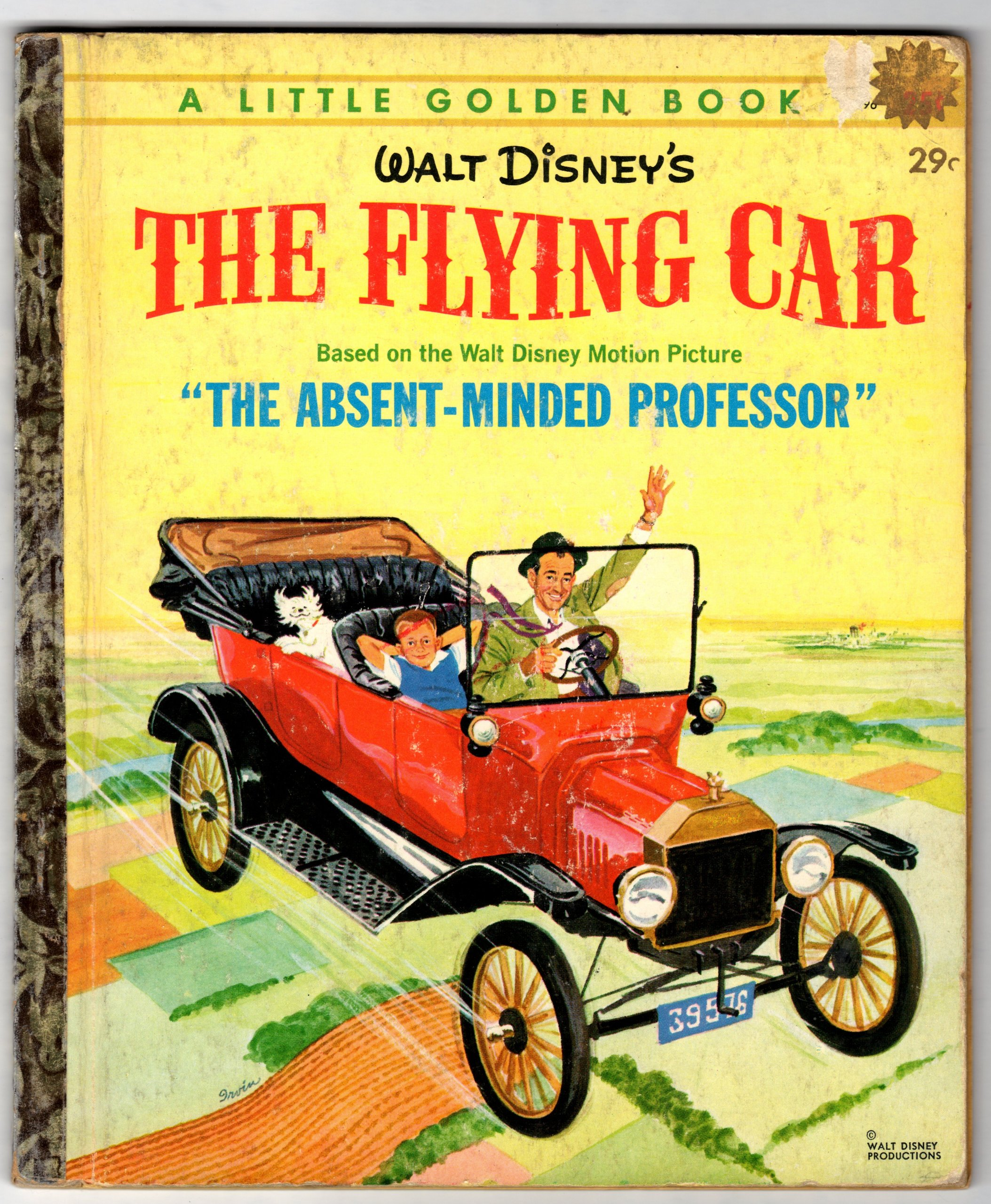Walt Disney\'s The flying car (A little golden book): Charles Spain ...