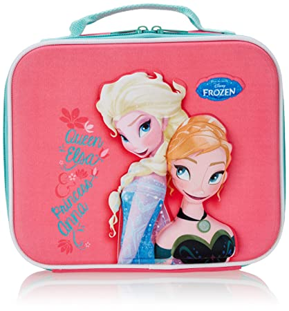 Image Unavailable. Image not available for. Color  Disney Frozen  Queen Elsa  And Princess Anna  3D Eva Premiu Unch Bag bbe38fe95ae80