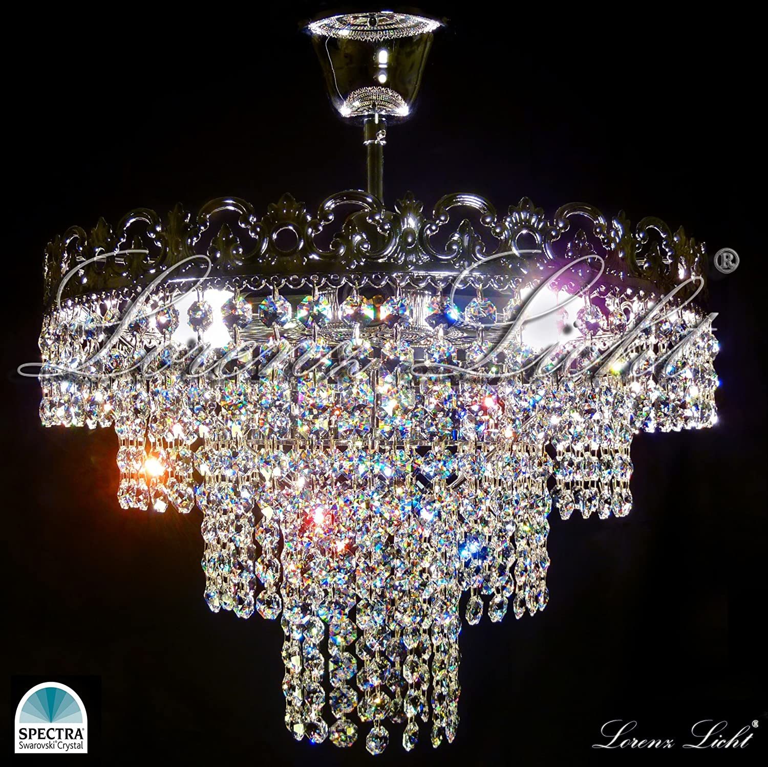 pin swarovski lighting chandelier chandeliers mini crystal