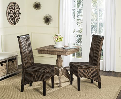 Safavieh Home Collection Ilya Wicker Dining Chair