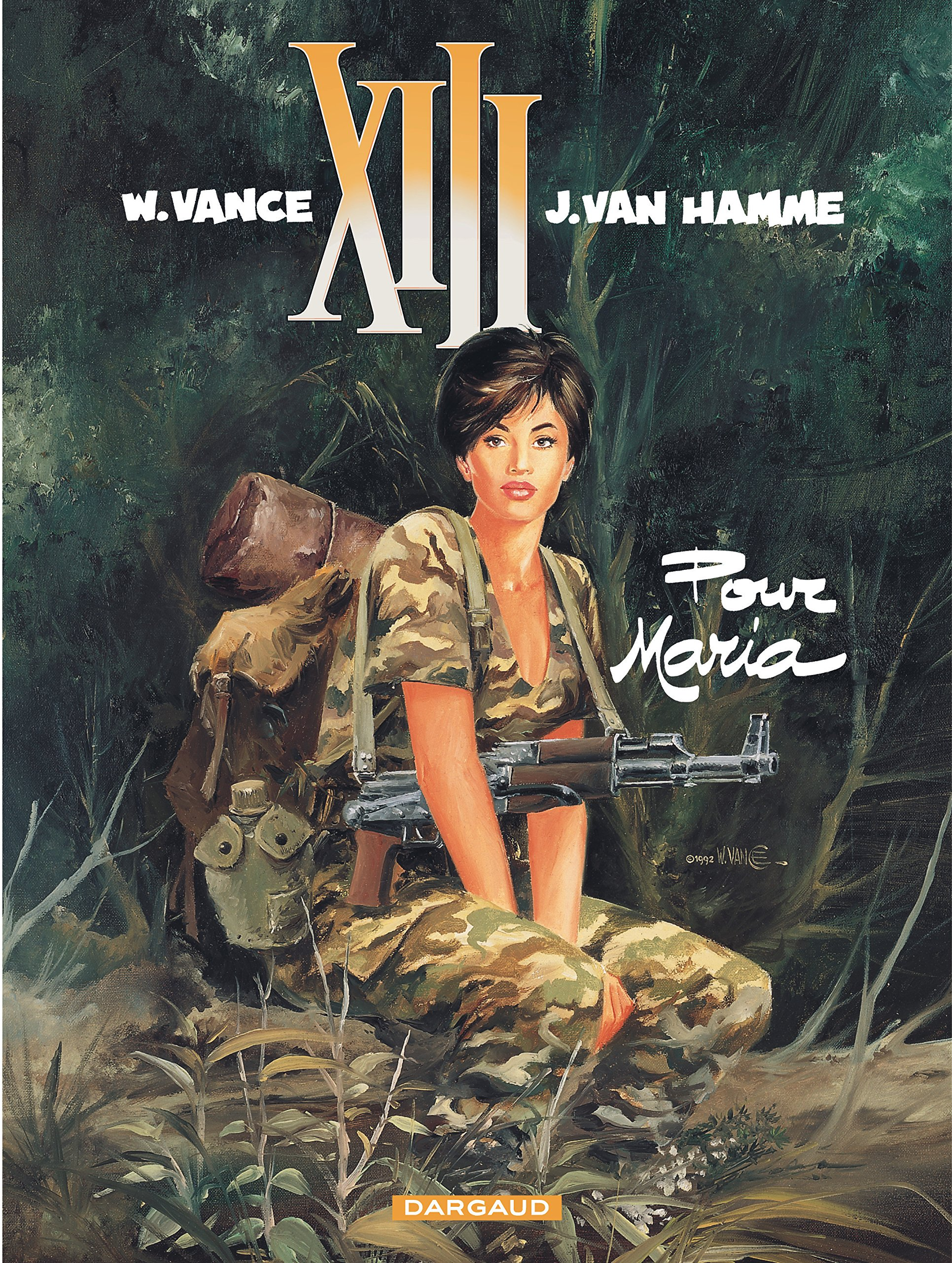 Amazon.fr - XIII, tome 9 : Pour Maria - William Vance, Jean Van Hamme -  Livres