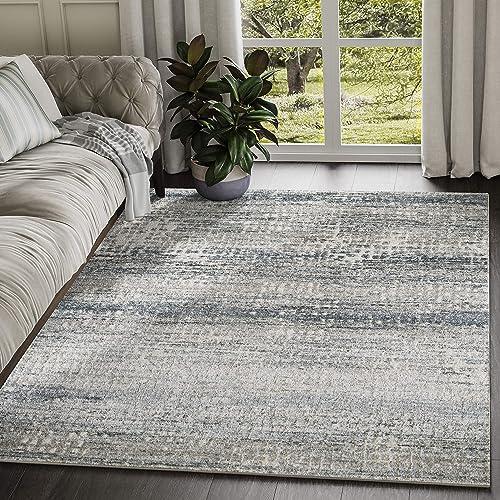 Abani Rugs Modern Distressed Pixel Print 7'9″ x 10'2″ Rectangle Area Rug