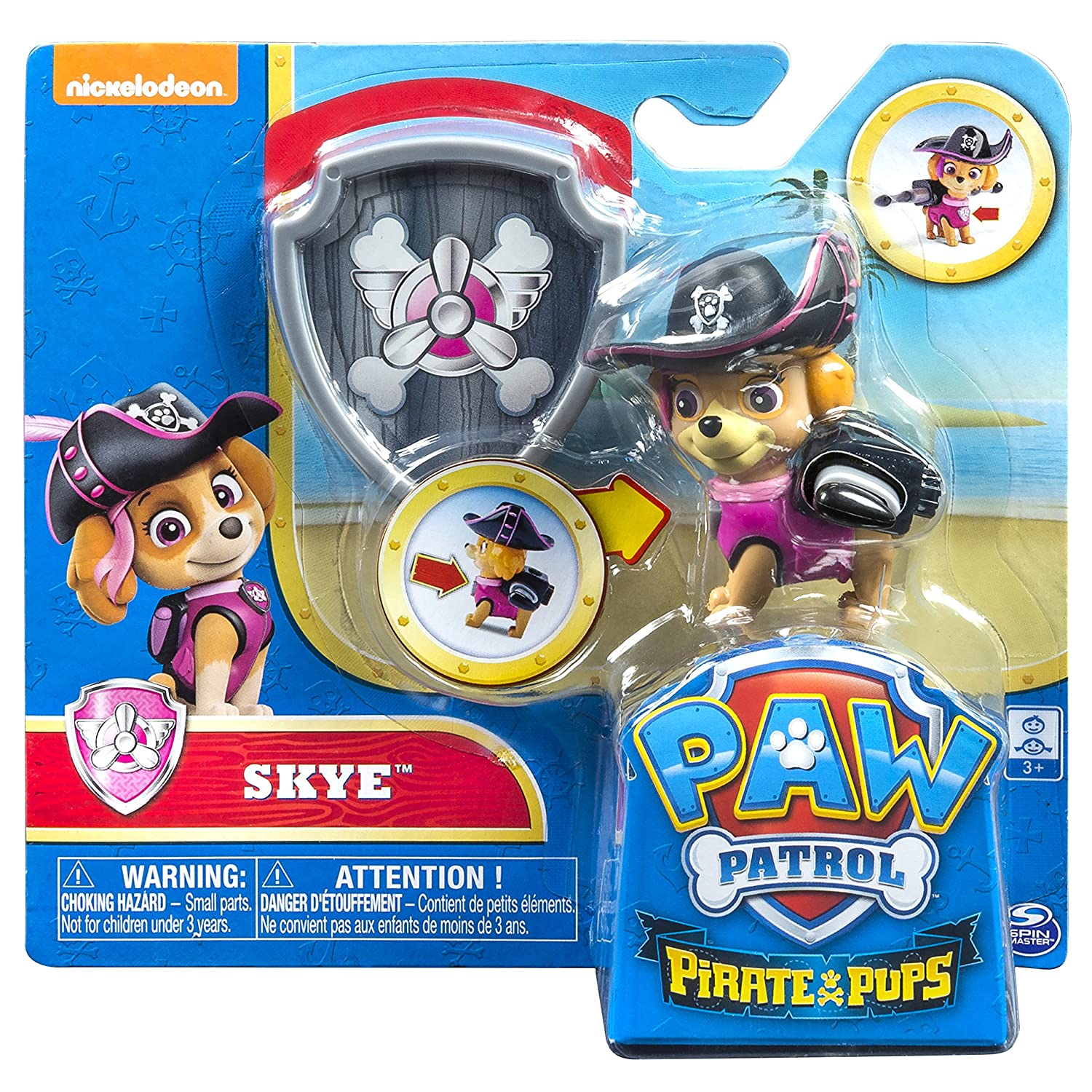 PAW Patrol Pirate Pups Exclusive Figure Skye Spin Master 6040212