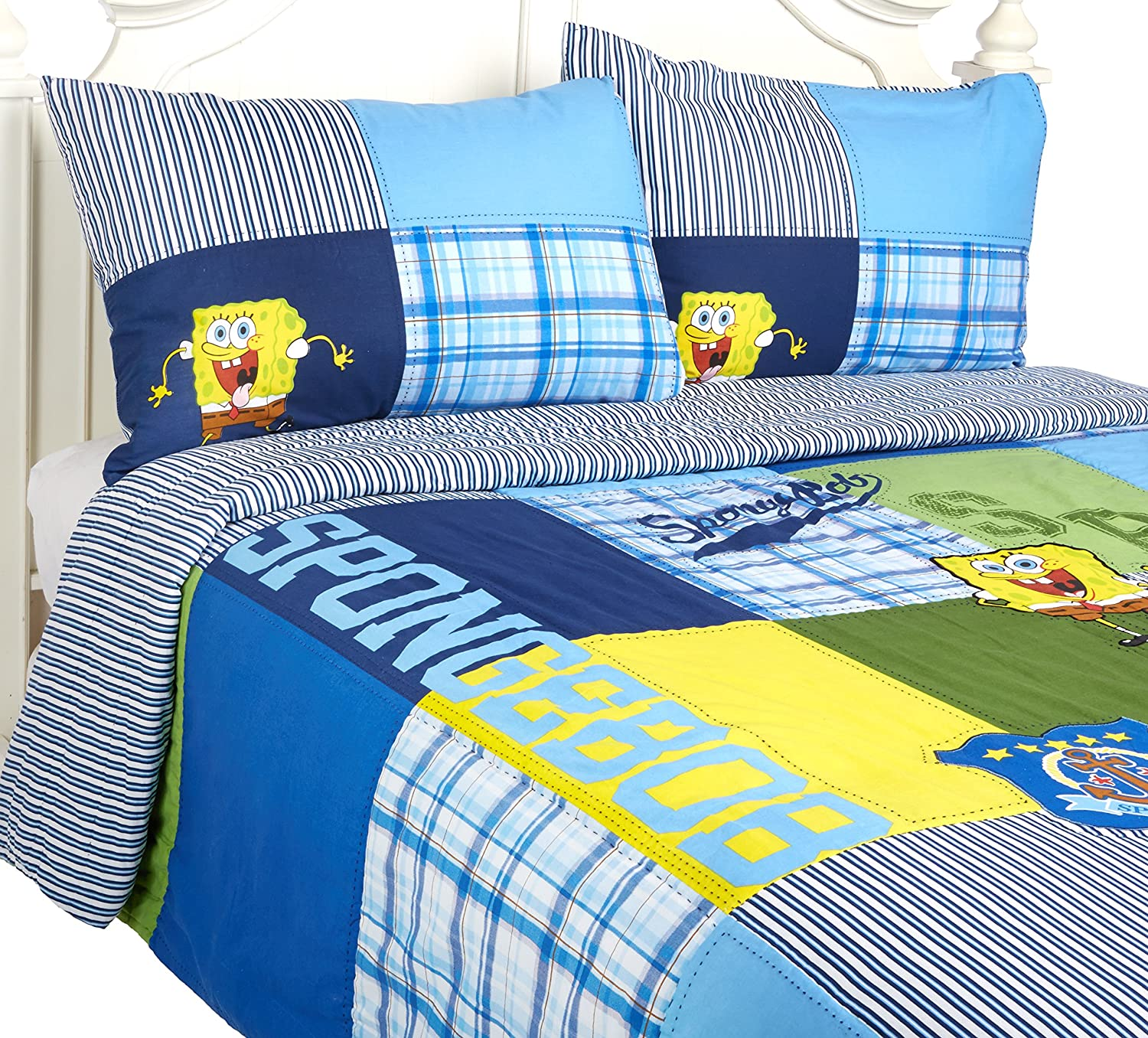 Nickelodeon SpongeBob Quilt Set, Full
