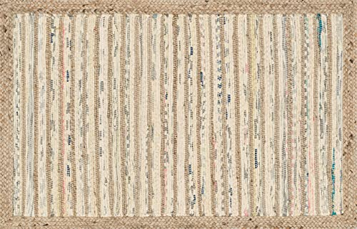 Loloi Rugs Gavin Collection Contemporary Area Rug, 2 -3 x 3 -9 , Natural