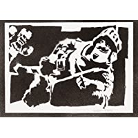 Poster Principe Clash Royale Handmade Graffiti Street Art - Artwork