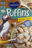 Barbara's Puffins Cereal, Honey Rice, 10 Ounce