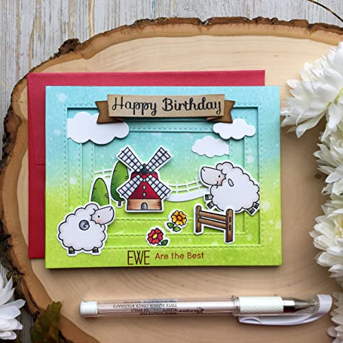 Amazon Handmade Birthday Card Farm Animals Birthday Cards