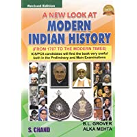 A New Look at Modern Indian History: Form 1707 To The Modern Times (Old Edition)