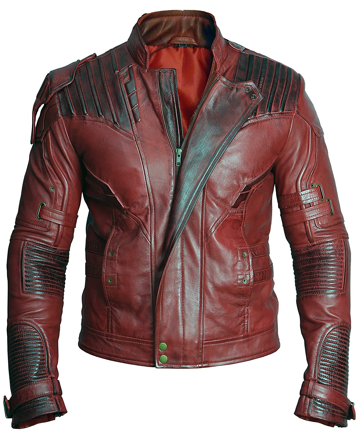 Guardians of The Galaxy Vol 2 Stylish Star Lord Real Leather Jacket