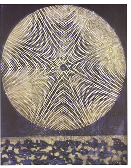 """MAX ERNST Birth of a Galaxy 31.25/"""" x 25.25/"""" Offset Lithograph 2013 Surrealism"""