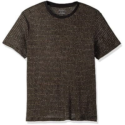 GUESS Men's Short Sleeve Satellite Crew Neck Shirt | .com