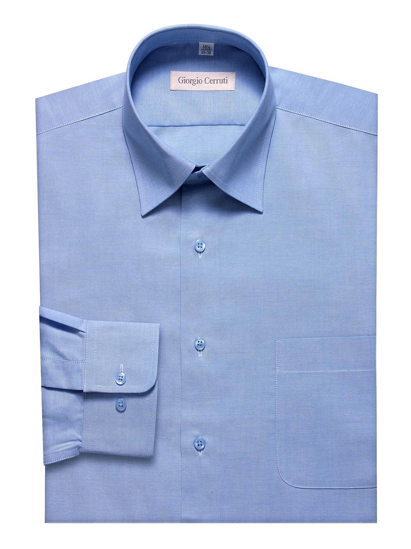 Giorgio Cerruti Mens 100/% Cotton Pink Dress Shirt