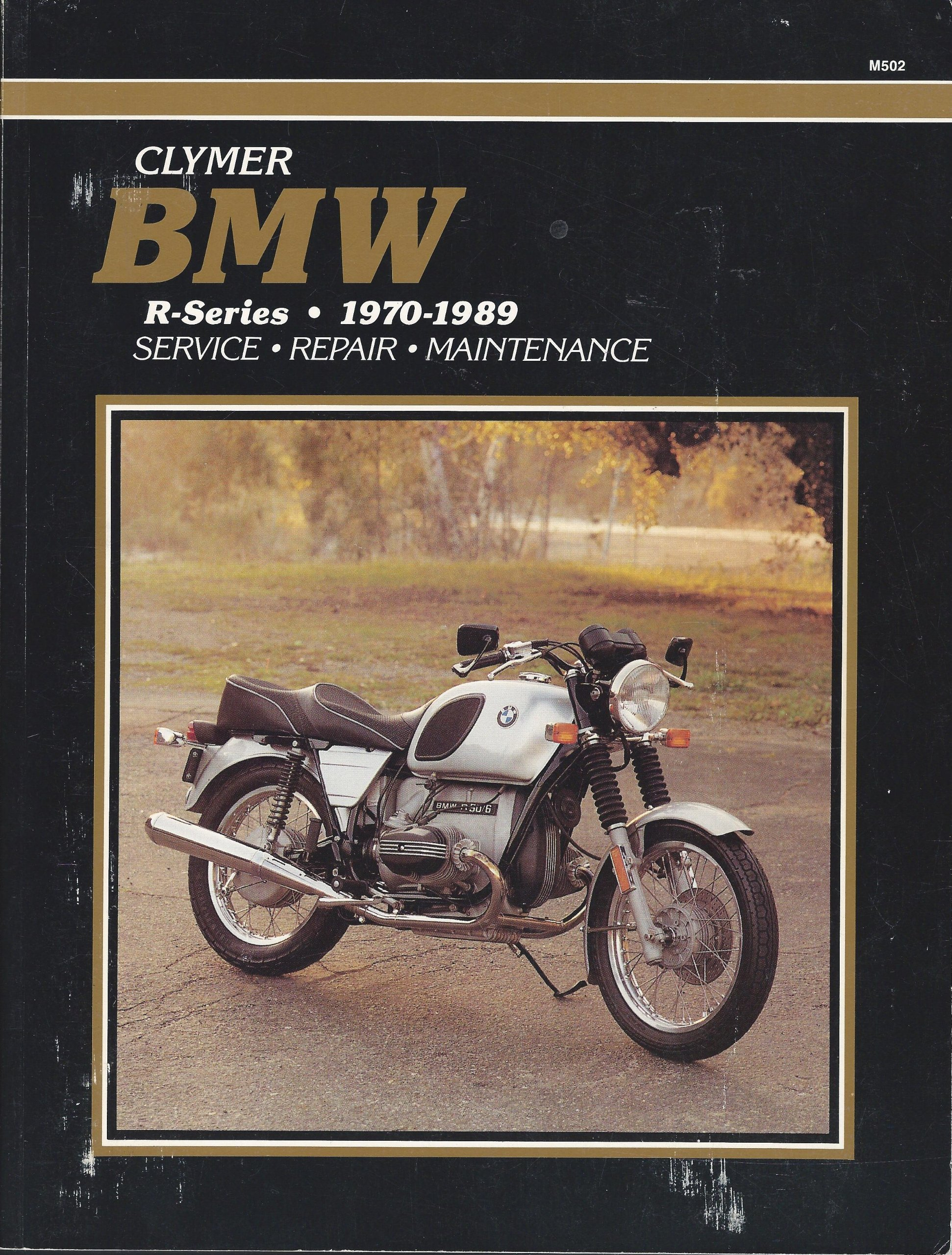 bmw r100 1982 repair service manual