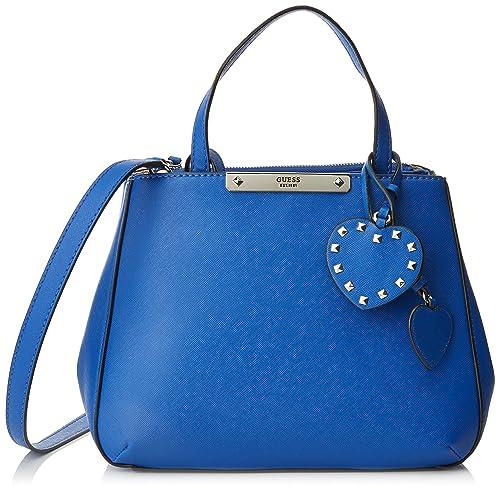 Guess - Hwvy6693050, Bolsos de mano Mujer, Blu, 14.5x24.5x34 ...
