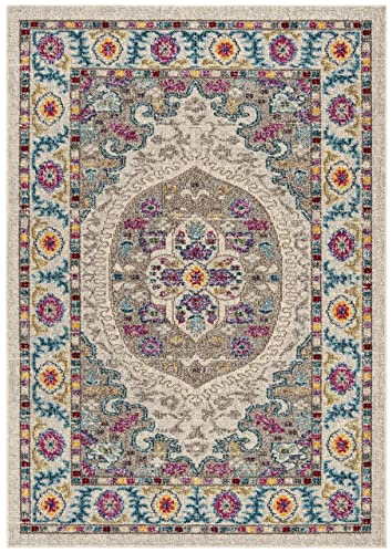 Safavieh MAD306A-5 Rug, 5 3 x 7 6 , Cream Taupe