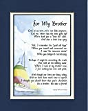 A Gift Present Poem For A Brother, #64. 30th 40th 50th 60th 70th 80th Birthday Gift