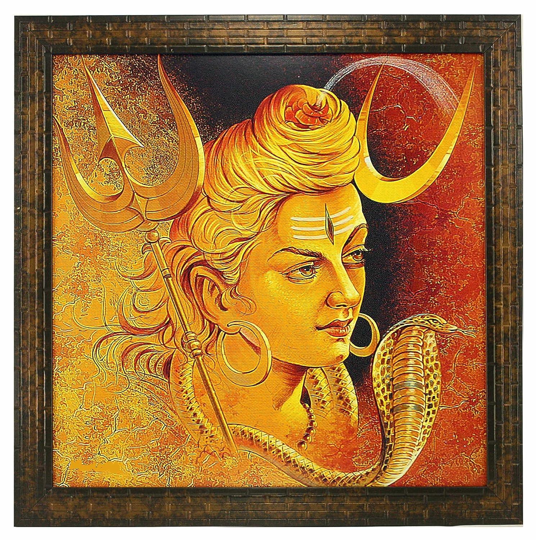 Lighting Deal - Indianara Lord Shiva Paintings 1379