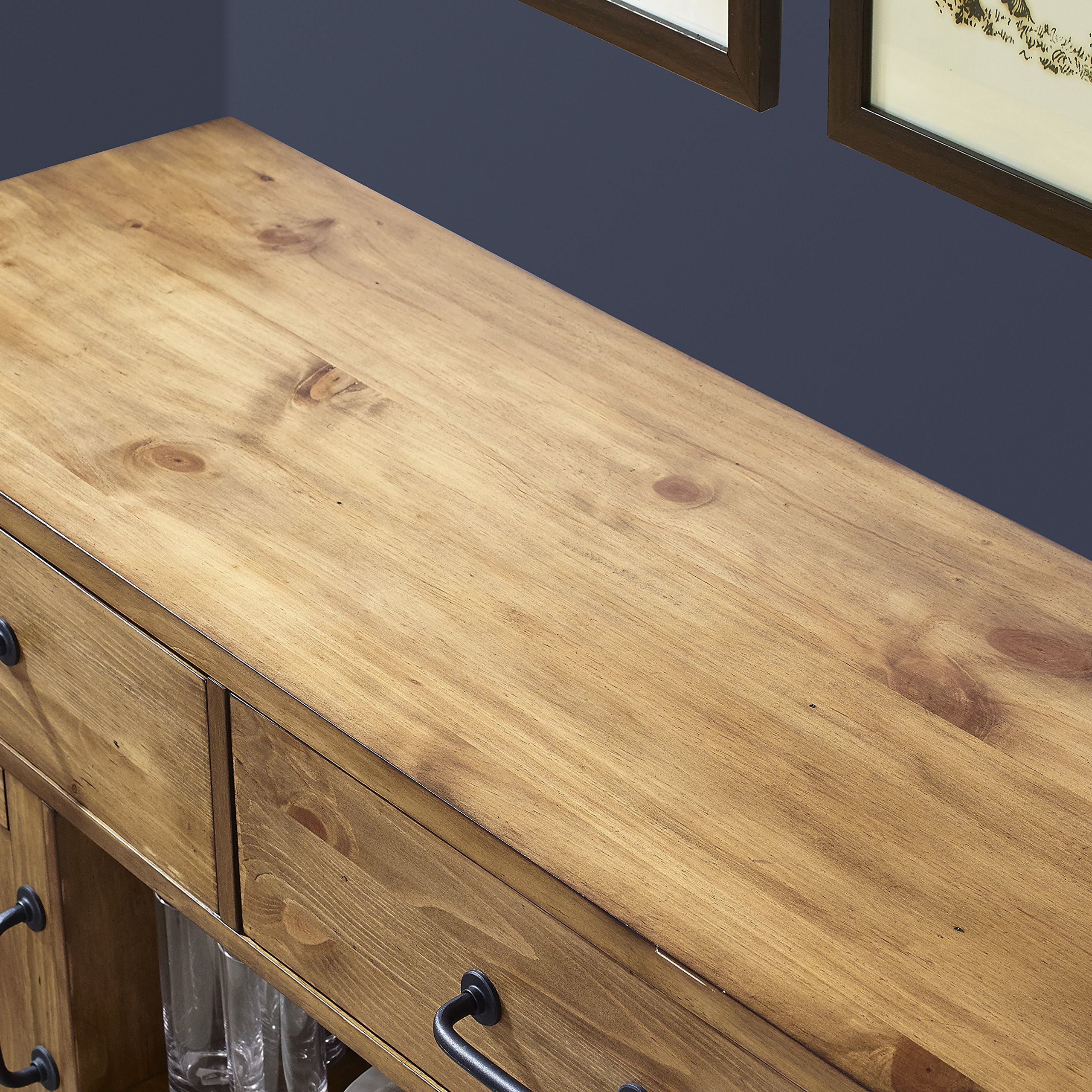 Crosley Furniture Roots Buffet Dining Room Storage - Natural by Crosley Furniture (Image #9)