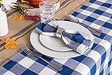 DII Cotton Buffalo Check Plaid Rectangle Tablecloth