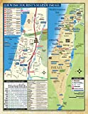 The Israel LAP MAP for the Jewish Traveler