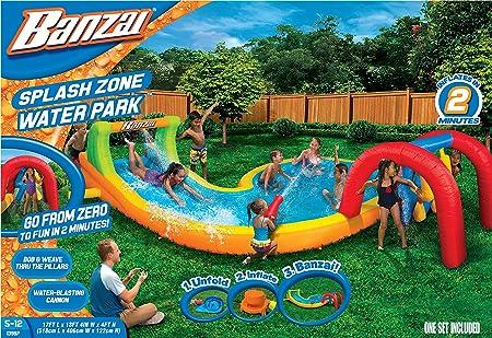 Banzai Splash – zona parque de agua (al aire libre Patio verano ...