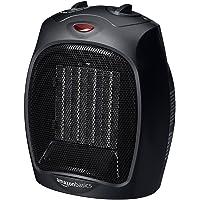Deals on AmazonBasics 1500 Watt Ceramic Space Heater w/Adjustable Thermostat