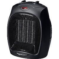 AmazonBasics 1500 Watt Ceramic Space Heater with Adjustable Thermostat