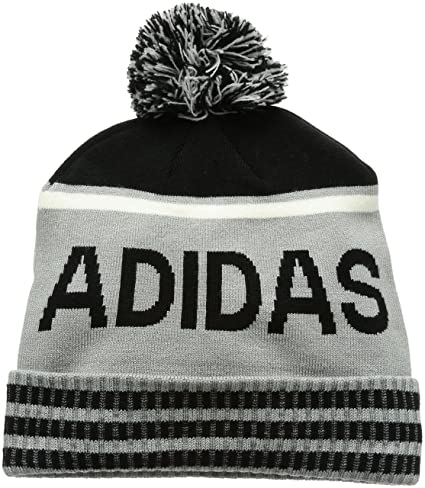 6b73c8d8 Amazon.com: adidas 2017 Mens Pom Golf Beanie Winter Bobble Hat Mid ...